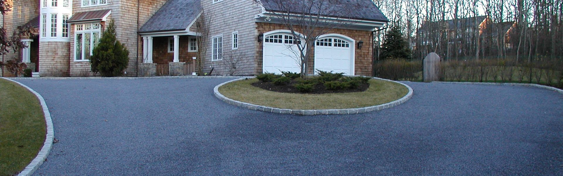 how to clean driveway stones